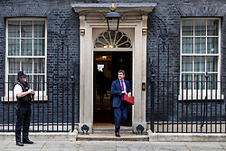 © Licensed to London News Pictures. 06/11/2018. London, UK. Secretary of State for Business, Energy and Industrial Strategy Greg Clark leaves 10 Downing Street after the Cabinet meeting. Photo credit: Rob Pinney/LNP