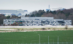 © Licensed to London News Pictures. 20/03/2018. Salisbury, UK. Porton Down - home to the Defence Science and Technology Laboratory (Dstl), a military research facilitiy, and Public Health England. Former Russian spy Sergei Skripal, his daughter Yulia are still critically ill after being poisoned with nerve agent. The couple where found unconscious on bench in Salisbury shopping centre. Authorities continue to investigate. Photo credit: Peter Macdiarmid/LNP