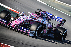 February 28, 2019 - Barcelona, Catalonia, Spain - LANCE STROLL (CAN) from team Racing Point drives in his RP19 during day seven of the Formula One winter testing at Circuit de Catalunya (Credit Image: © Matthias OesterleZUMA Wire)