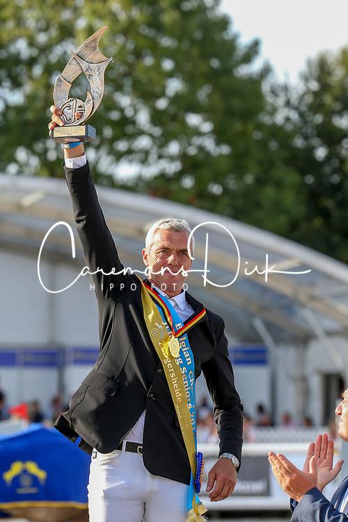 Hendrickx Dominique, BEL<br /> Final Belgium Championships<br /> Zangersheide FEI World Cup Breeding Jumping<br /> © Dirk Caremans<br /> 15/09/18