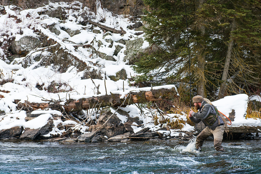Cade Marble in Coon Hat takes on the Tenkara and HF bows.
