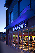 andy spain architectural photography pizza express gloucester dusk