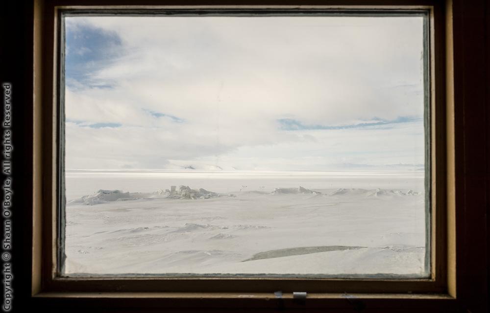 View from Hut A, New Zealand's Scott Base, Antarctica