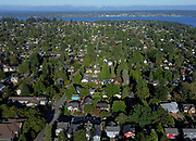 Northeast Seattle's Bryant neighborhood is seen in August 2020. Home prices in the Seattle metro area and around the country continue to increase steadily. (Ken Lambert / The Seattle Times)