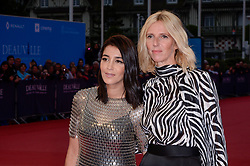 Leila Bekhti, Sandrine Kiberlain attending the premiere of The Sisters Brothers during the 44th Deauville American Film Festival in Deauville, France on September 4, 2018. Photo by Julien Reynaud/APS-Medias/ABACAPRESS.COM