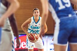 Teja Oblak of Slovenia during Women's Basketball - Slovenia vs Slovaska on the 14th of June 2019, Dvorana Poden, Skofja Loka, Slovenia. Photo by Matic Ritonja / Sportida