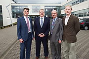 11/07/2017  REPRO FREE:    Dr Rick officer VP for research GMIT, Pat Breen is Minister of State  Department of Enterprise and Innovation,  Mr George McCourt Head of innovation GMIT, Mr David Lee Head of buildings and Estates GMIT and Barry Egan Enterprise ireland . Photo:Andrew Downes, xposure .