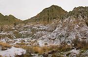 volcanic tuff, blue basin, john day fossil beds national monument, green hills, volcanic landscape, fossil bed, fossil beds, oregon, ancient geology,