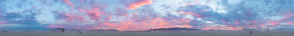 Magnificent Pastel Skies Panorama