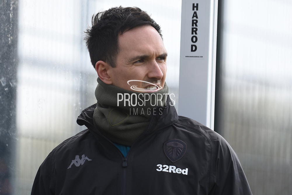 Leeds United coaching staff during the U18 Professional Development League match between Coventry City and Leeds United at Alan Higgins Centre, Coventry, United Kingdom on 13 April 2019.