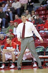 18 January 2007: Porter Moser. The Shockers of Wichita State were shut off by the Redbirds by a score of 83-75 at Redbird Arena in Normal Illinois on the campus of Illinois State University.