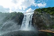 Chute de Montmorency/Montmorency Waterfall, Quebec, Canada.