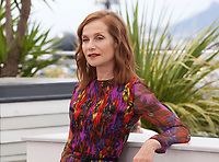Actress Isabelle Huppert at the Happy End film photo call at the 70th Cannes Film Festival Monday 22nd May 2017, Cannes, France. Photo credit: Doreen Kennedy