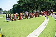 Staatsbezoek van Koning Willem Alexander en  Koningin Maxima aan Indonesie  Dag 1 Java, Jakarta Welkomstceremonie op hetpresidentieel paleis Bogor // State visit of King Willem Alexander and Queen Maxima to Indonesia Day 1 Java, Jakarta Welcome ceremony at the Bogor presidential palace