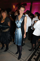 ALANNAH WESTON at the British Fashion Awards 2006 sponsored by Swarovski held at the V&A Museum, Cromwell Road, London SW7 on 2nd November 2006.<br />