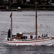 Three weeks aboard the Kong Harald. Hurtigruten, the Coastal Express. Tromso