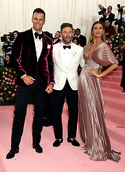 Tom Brady and Gisele Bundchen attending the Metropolitan Museum of Art Costume Institute Benefit Gala 2019 in New York, USA.