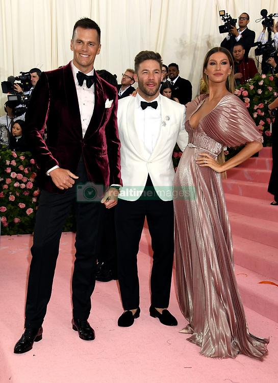 Tom Brady and Gisele Bundchen attending the Metropolitan Museum of Art Costume Institute Benefit Gala 2019 in New York, USA.