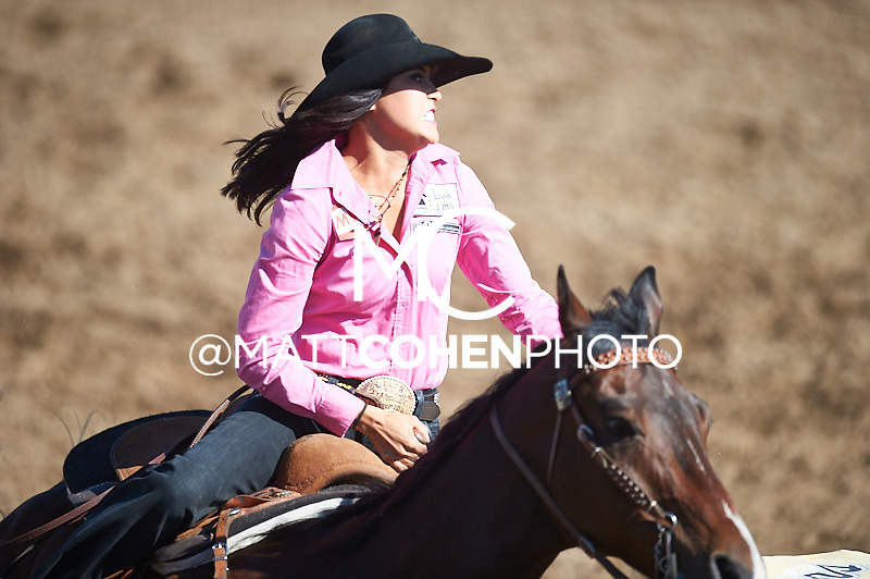 Barrel racer Kassidy Dennison of Tohatchi, NM competes at the Clovis Rodeo in Clovis, CA.<br /> <br /> <br /> UNEDITED LOW-RES PREVIEW<br /> <br /> <br /> File shown may be an unedited low resolution version used as a proof only. All prints are 100% guaranteed for quality. Sizes 8x10+ come with a version for personal social media. I am currently not selling downloads for commercial/brand use.