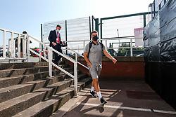 Chris Martin of Bristol City arrives - Rogan/JMP - 20/09/2020 - Bet365 Stadium - Stoke, England - Stoke City v Bristol City - Sky Bet Championship.