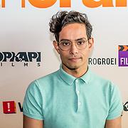 NLD/Amsterdam//20170419 - Castpresentatie film Gek op Oranje, Robin Mitchell