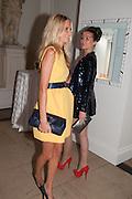 POPPY DELEVIGNE; SASKIA BOXFORD, Cartier Tank Anglaise launch. Kensington Palace Orangery, London.  19 April 2012.