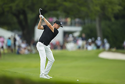 May 26, 2019 - Fort Worth, TX, USA - Jonas Blixt of Sweden during the final round of the 2019 Charles Schwab Challenge PGA at Colonial Country Club. (Credit Image: © Erich Schlegel/ZUMA Wire)