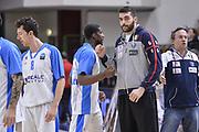 DESCRIZIONE : Eurocup 2015-2016 Last 32 Group N Dinamo Banco di Sardegna Sassari - Cai Zaragoza<br /> GIOCATORE : Francesco Pellegrino<br /> CATEGORIA : Fair Play Before Pregame<br /> SQUADRA : Dinamo Banco di Sardegna Sassari<br /> EVENTO : Eurocup 2015-2016<br /> GARA : Dinamo Banco di Sardegna Sassari - Cai Zaragoza<br /> DATA : 27/01/2016<br /> SPORT : Pallacanestro <br /> AUTORE : Agenzia Ciamillo-Castoria/L.Canu