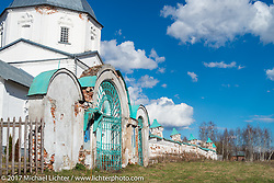 Russian Orthodox church in the Saint Nicolay nunnery monastery in Sanino, near the Golden Ring town of Suzdal, Russia. Tuesday April 25, 2017. Photography ©2017 Michael Lichter.