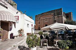 Alessano 19 ottobre 2012..Bar Caffetteria dell'orologio..Vista Piazza Don Tonino Bello, centro del Comune di Alessano (Salento) in provincia di Lecce.