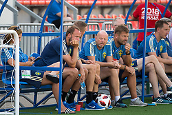 July 4, 2018 - Gelendzhik, Russia - 180704 Andreas Granqvist of the Swedish national football team at a practice session during the FIFA World Cup on July 4, 2018 in Gelendzhik..Photo: Petter Arvidson / BILDBYRÃ…N / kod PA / 92081 (Credit Image: © Petter Arvidson/Bildbyran via ZUMA Press)