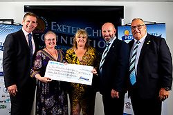 The Last Kiss Foundation - Mandatory by-line: Robbie Stephenson/JMP - 03/10/2019 - RUGBY - Sandy Park - Exeter, England - Exeter Chiefs 2019 Season Kick Off Dinner