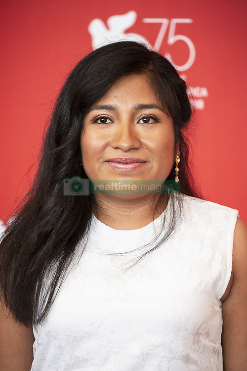 Nancy García attends Roma photocall during the 75th Venice Film Festival at Sala Casino on August 30, 2018 in Venice, Italy. Photo by Marco Piovanotto/ABACAPRESS.COM