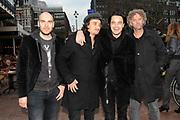 Film1 Rembrandt Awards 2010 vanuit de Escape in Amsterdam.<br /> <br /> Op de foto:  Kane - Dinand Woesthoff , Dennis van Leeuwen , Ivo Severijns en Joost Kroon