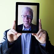 Portrait of Sir Ken Robinson, renowned educator, speaker and innovator.