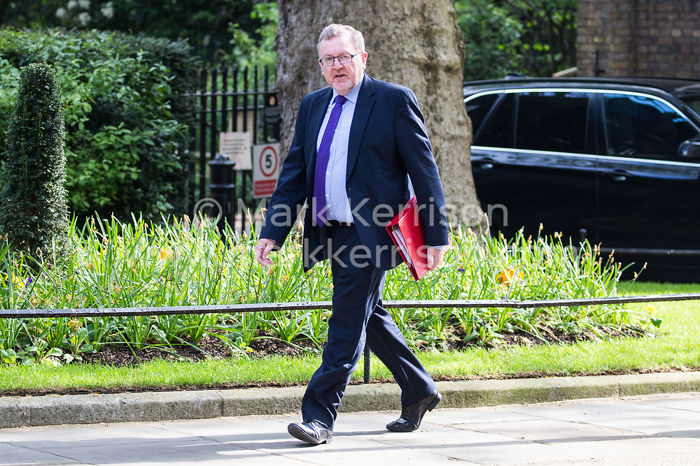 London, UK. 30th April 2019. David Mundell MP, Secretary of State for Scotland, arrives at 10 Downing Street for a Cabinet meeting.