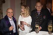 FARID KARIM; BASIA BRIGGS; NAIM ATTALLAH, Launch of book by Basia Briggs, Mother Anguish. The Ritz hotel, Piccadilly. 4 December 2017