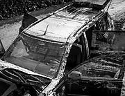 Alluvione a Livorno. Una macchina dopo l'alluvione <br /> <br /> A car after the flood<br /> <br /> Livorno 11/9/2017<br /> Daniele Stefanini/Oneshot