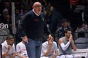 Matteo Boniciolli<br /> Segafredo Virtus Bologna - Kontatto Fortitudo Bologna<br /> Campionato Basket LNP 2016/2017<br /> Bologna 06/01/2017<br /> Foto Ciamillo-Castoria