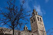 The 9th century Monestir de Sant Cugat del Valles, near Barcelona, Catalonia.