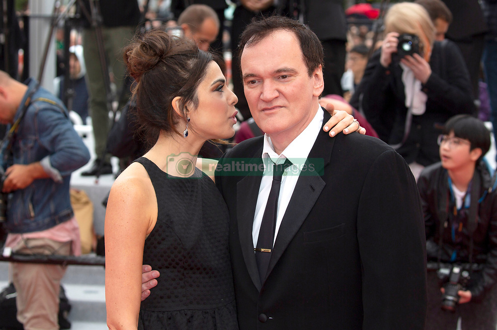 attending the 'Nan Fang Che Zhan De Ju Hui / The Wild Goose Lake' premiere during the 72nd Cannes Film Festival at the Palais des Festivals on May 18, 2019 in Cannes, France. 18 May 2019 Pictured: Quentin Tarantino with wife Daniella Pick. Photo credit: MEGA TheMegaAgency.com +1 888 505 6342