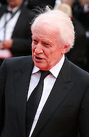 Andre Dussollier at the the Grace of Monaco gala screening and opening ceremony red carpet at the 67th Cannes Film Festival France. Wednesday 14th May 2014 in Cannes Film Festival, France.