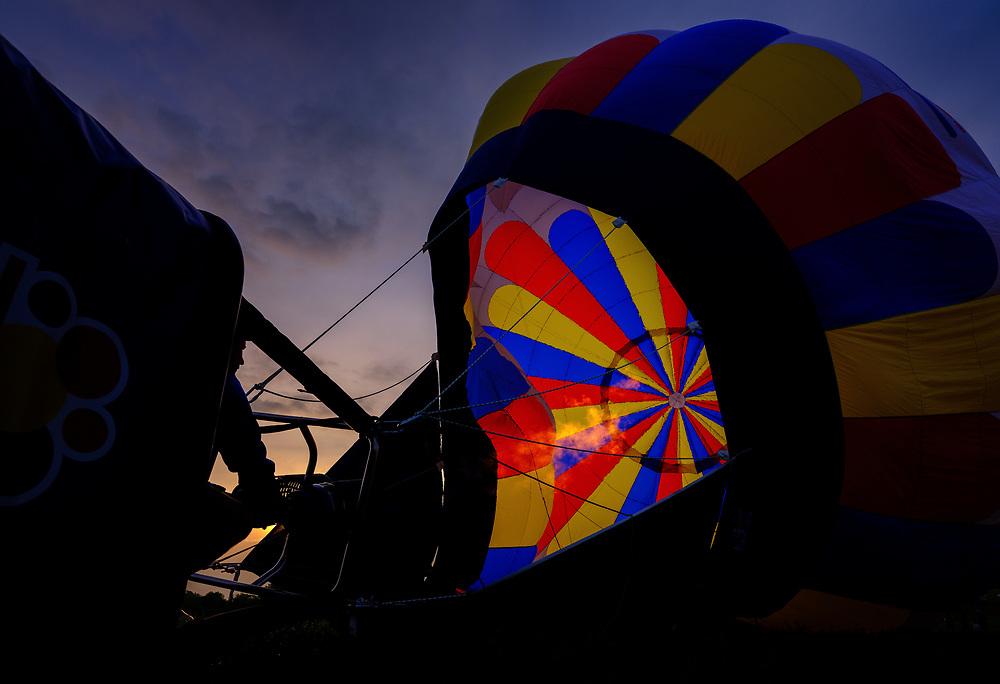 Preakness Balloon Festival in Howard County, Maryland.