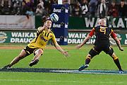 Dane Coles knock the ball on during their game at Waikato Stadium , Chiefs v Hurricanes, at Waikato Stadium, Hamilton, New Zealand, Saturday 28 April 2012. Photo: Dion Mellow/photosport.co.nz