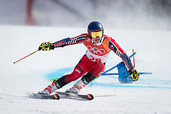 PYEONGCHANG-GUN, SOUTH KOREA - FEBRUARY 18: Trevor Philp of Canada competes during the Alpine Skiing Men's Giant Slalom at Yongpyong Alpine Centre on February 18, 2018 in Pyeongchang-gun, South Korea.Photo by Ronald Hoogendoorn / Sportida