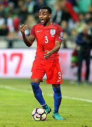 Danny Rose of England looks for a pass to make - Mandatory by-line: Robbie Stephenson/JMP - 11/10/2016 - FOOTBALL - RSC Stozice - Ljubljana, England - Slovenia v England - World Cup European Qualifier