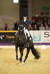Nilshagen, Therese (SWE) , Dante Weltino OLD<br /> Frankfurt - Festhallen Reitturnier 2015<br /> Louisdor Preis Finale<br /> www.sportfotos-lafrentz.de