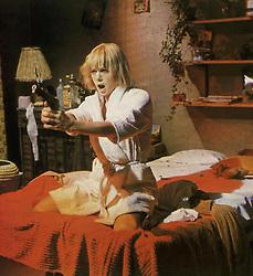 January 1, 1967 - Anita Pallenberg Marie (Anita Pallenberg) zielt mit einem revolver 1967 UnitedArchives01356581....Anita Pallenberg Marie Anita Pallenberg aims with a Revolvers 1967 UnitedArchives01356581 (Credit Image: © Imago via ZUMA Press)