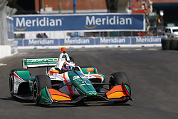 July 13, 2018 - Toronto, Ontario, Canada - RENE BINDER. (32) of Austria takes to the track to practice for the Honda Indy Toronto at Streets of Exhibition Place in Toronto, Ontario. (Credit Image: © Justin R. Noe Asp Inc/ASP via ZUMA Wire)
