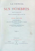 From the book La ciencia y sus hombres : vidas de los sabios ilustres desde la antigüedad hasta el siglo XIX T. 2  [Science and its men: lives of the illustrious sages from antiquity to the 19th century Vol 2] By by Figuier, Louis, (1819-1894); Casabó y Pagés, Pelegrín, n. 1831 Published in Barcelona by D. Jaime Seix, editor , 1879 (Imprenta de Baseda y Giró)